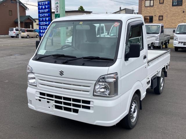 スズキ キャリイトラック KCエアコン・パワステ 4WD オートマ ETC 走行距離6252キロ