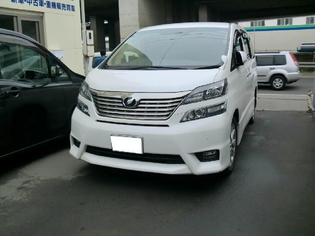 トヨタ 3.5Z Gエディション 4WD 後席モニター