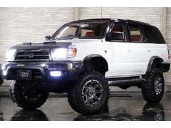 ハイラックスサーフSSR−X 4WD リフトUP BKノーズブラ 外17AW