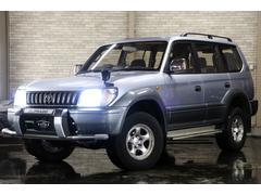 ランドクルーザープラドTX 4WD ワンオーナー ディーラー記録簿多 新HID