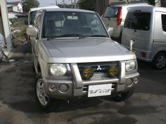 パジェロミニX 切り替え4WD キーレス 社外CDオーディオ