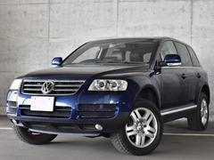 VW トゥアレグV6 4WD 横浜仕入 ワンオーナー 本革シート