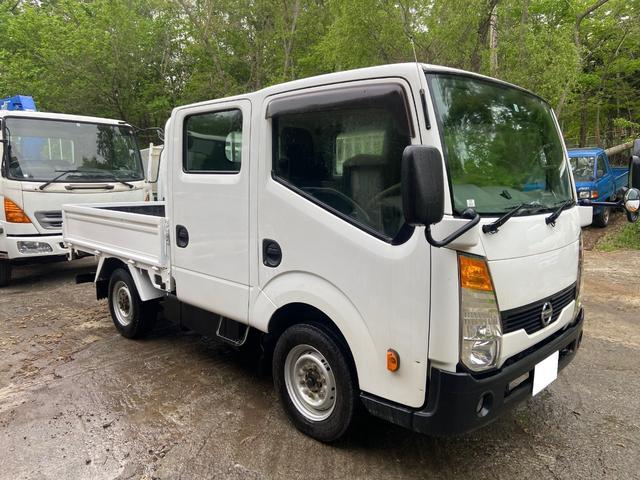 日産 アトラストラック WキャブフルスーパーローDX 4WD全低床ダブルキャブ
