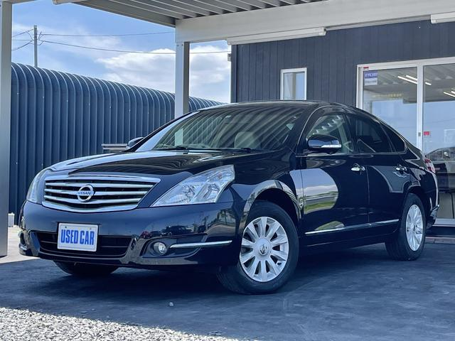 日産 ティアナ 250XL FOUR 4WD ワンオーナ Egスタータ バック・サイドカメラ フルセグナビ ETC オットマン プレイヤー接続 電動シート