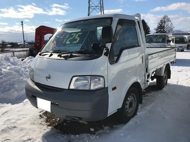 日産 4WD トラック エアコン 5MT 3名乗り パワステ