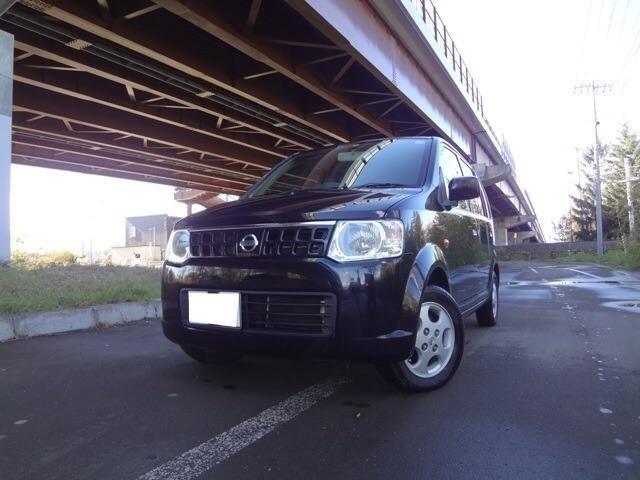 日産 E FOUR 4WD 軽自動車 ブラック AT AC AW