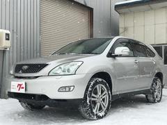 ハリアーAIRS・4WD・DVDナビ・電動シート・サンルーフ