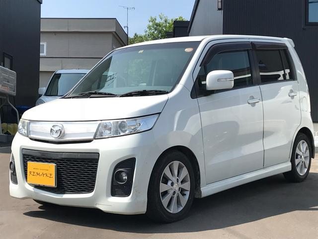マツダ AZワゴンカスタムスタイル XT・4WD・プッシュスタート・ターボ・ETC・キーレス