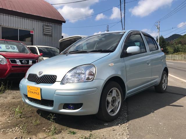 トヨタ ヴィッツ F Lパッケージ 4WD AT AW オーディオ付