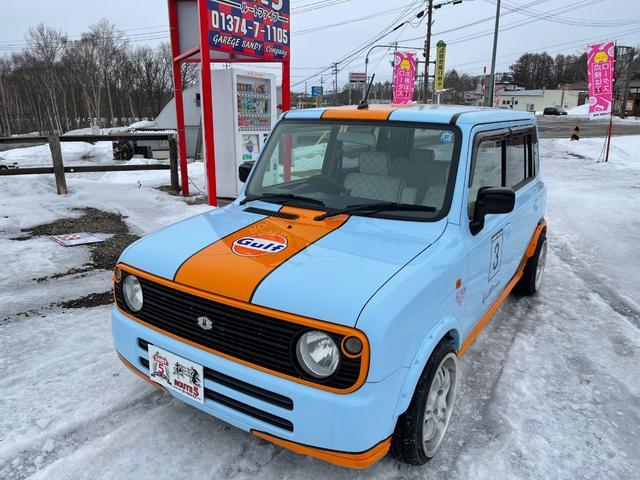 スズキ G 4WD CD再生 ガルフカラー ガルフカスタム