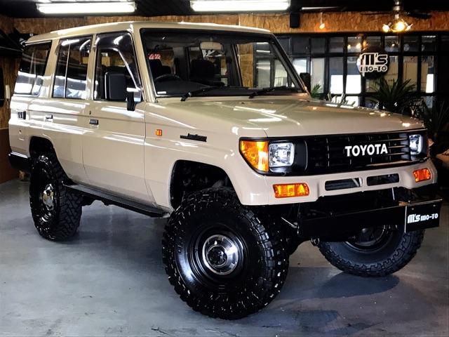 トヨタ SXワイド 4WD リフトアップ 全塗装済
