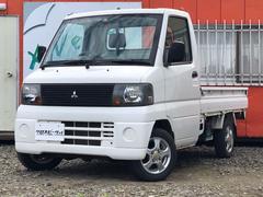 ミニキャブトラックVタイプ 4WD 社外アルミ パワステ 三方開 夏冬タイヤ