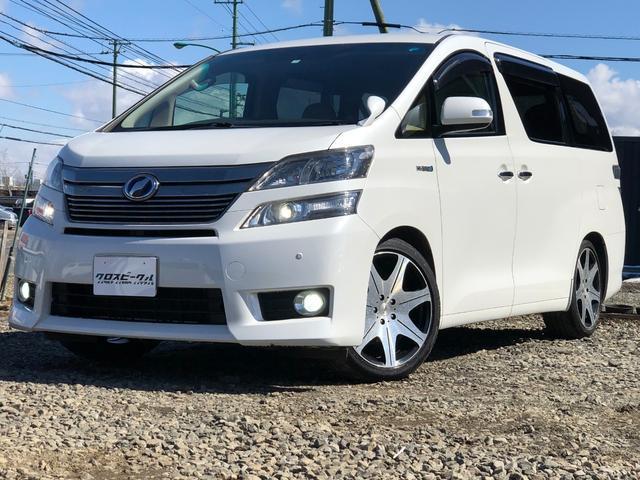 トヨタ X 4WD 車高調 19AW 純正HDD エンスタ