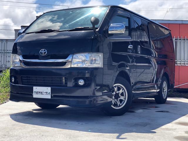 トヨタ ロングスーパーGL 4WD タイベル交換済 HDDナビ