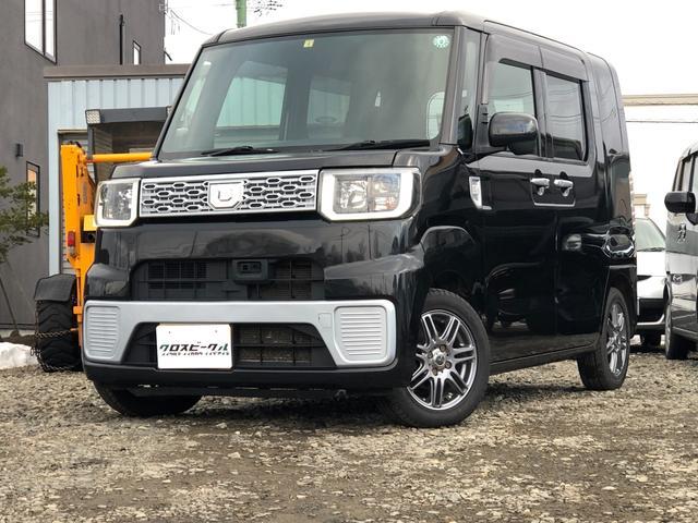 ダイハツ ウェイク L SA 4WD スマートアシスト プッシュスタート スマートキー アイドリングストップ エンジンスターター 社外オーディオ