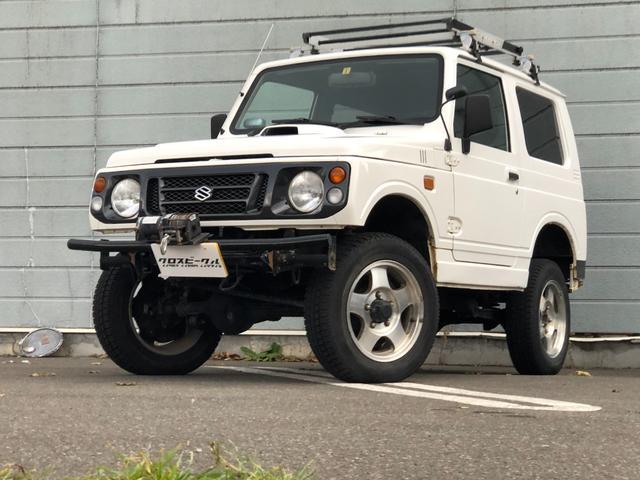 スズキ XL 4WD ウインチ リフトアップ ルーフキャリア