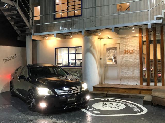 LS LS600h バージョンU Iパッケージ 本州仕入/セミアニリン黒革シート/エアサスコントローラー/サンルーフ/WALDのタイヤ/LX-MODEのフロントスポイラー/3連LEDヘッドライト/HIDフォグライト/パワートランク/4WD