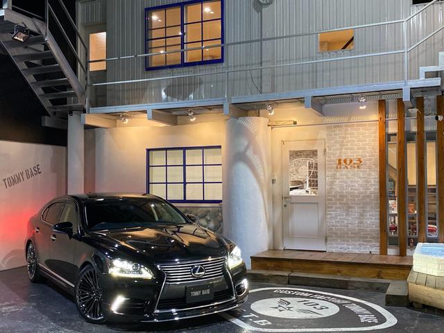 レクサス LS LS460 バージョンC Iパッケージ 本州仕入れ/純正オプション3連LEDヘッドライト/黒革シート/純正HDDナビ