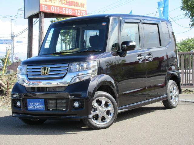 ホンダ G・Lパッケージ 4WD 法定整備 Bluetoothナビ Bカメラ ドラレコ エンジンスターター 冬タイヤ