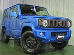 ジムニーXL 届出済未使用車 セフティーサポート付き バンパー同色