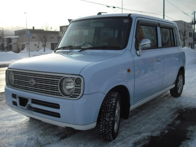 スズキ L 4WD キーレス シートヒーター エンスタ 2トーンルーフ CD