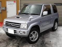 パジェロミニアクティブフィールドエディション 4WD ターボ HDDナビ 下廻り防錆施工