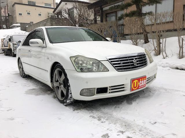 「トヨタ」「クラウン」「セダン」「北海道」の中古車