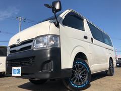 ハイエースバンDX D−TB 5ドア 4WD 新品ホワイトレターAW 本州