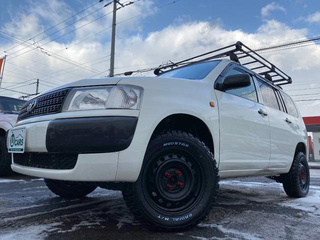 プロボックスバン DX 4WD 2リフトUP 新マッドT 新ルーフキャリア