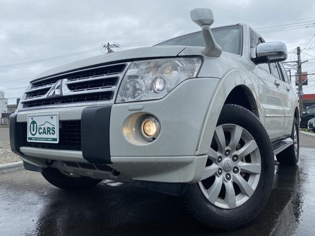 三菱 ロング3.2Dターボ スーパーエクシード 4WD 黒革 本州