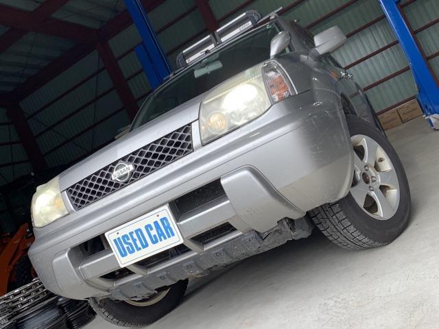 日産 エクストレイル 2.0X 4WD リアフォグ ルーフレール ユーザー買取
