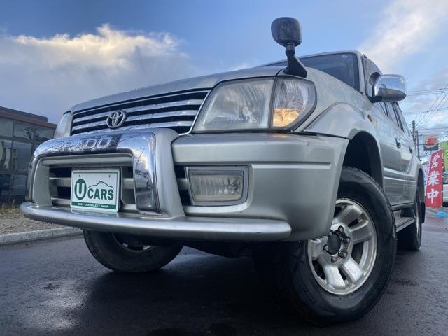 トヨタ ランドクルーザープラド TZ 3.0ディーゼルターボ 4WD オプティメータ ETC 記録簿 1オーナー