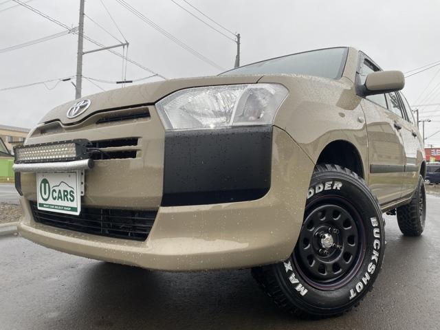 トヨタ UL バン1.5 4WD 2リフトUP 外SDナビTV ETC 全塗装済み