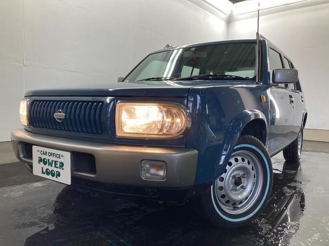 日産  新品ホワイトリボンT&背面T 鉄板ホイール再塗装済み 1800cc オートAC 本州仕入