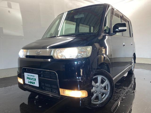 ダイハツ タント カスタムL 4WD HIDライト ベンチシート 冬タイヤ付き ユーザー買取