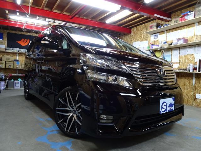 トヨタ 2.4Z 4WD アルパインナビフリップダウンモニター