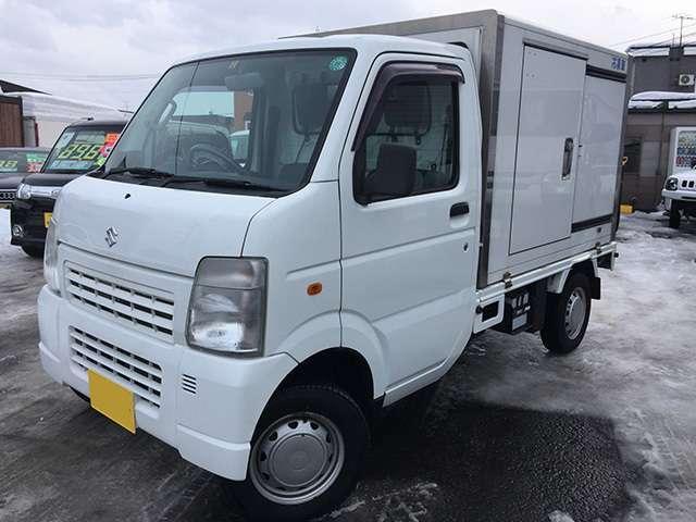 スズキ 冷蔵冷凍車 4WD 5MT
