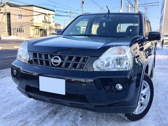 日産 エクストレイル 20Xtt 4WD 純正ナビ&Bカメラ&純正エンスタ