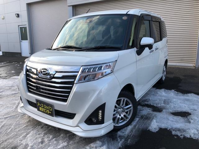 ダイハツ カスタムG SAII 4WD ナビ テレビ ドラレコ