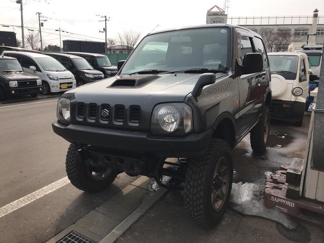 スズキ XL 4WD 軽自動車 キプロスブルーメタリックII MT
