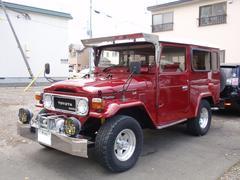 ランドクルーザー404WD 4ナンバー ロング ウインチ クーラー