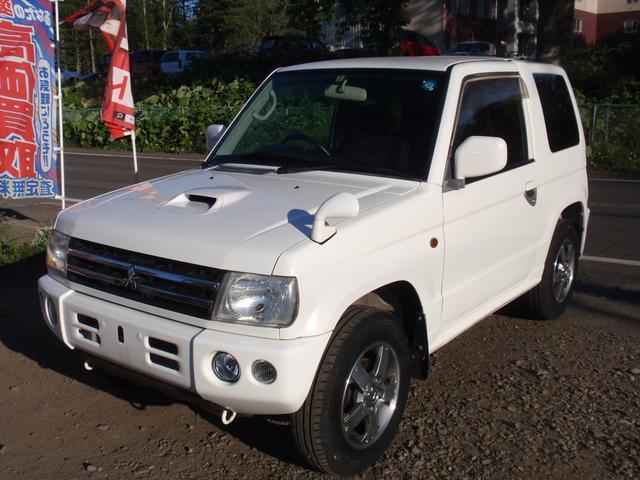 三菱 アクティブフィールドエディション 4WD ATリビルト ナビ