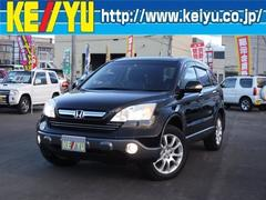 CR−VZX 4WD 禁煙車 HDDナビ ブラックレザーシート