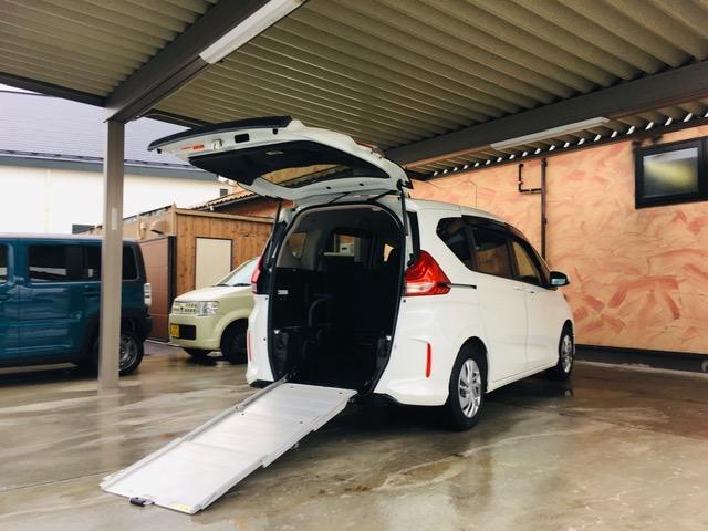 ホンダ G 福祉車両 LEDヘッドランプ 両側電動パワースライドドア ETC ナビ バックカメラ