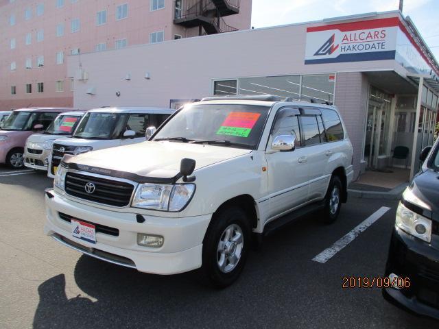 トヨタ VXリミテッドレザー 1ナンバー4WDサンルーフ HDDナビ