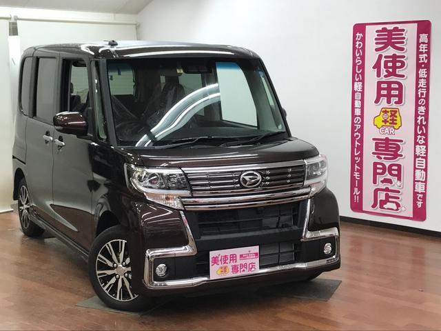 ダイハツ カスタムX トップエディションSAIII 4WD 純正アルミ