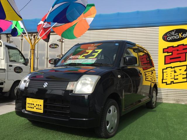 スズキ アルト GII 4WD キーレス 車検整備付 キーレス CD