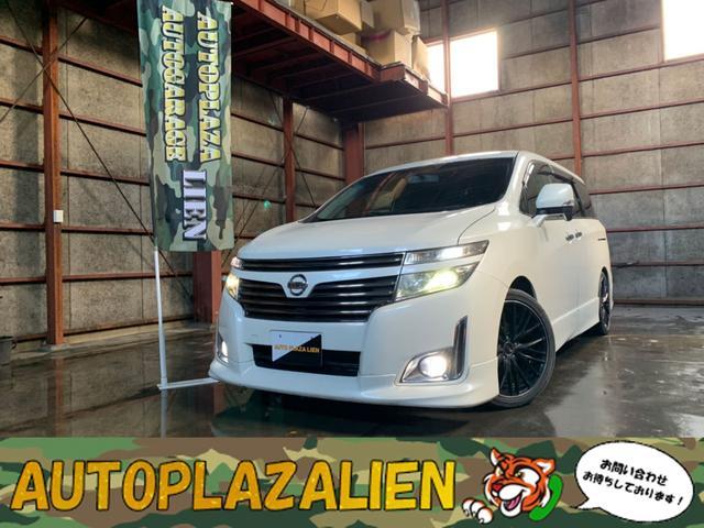 日産 エルグランド 250ハイウェイスター TEIN車高調・19インチAW・本州仕入れ・4WD・Bluetooth