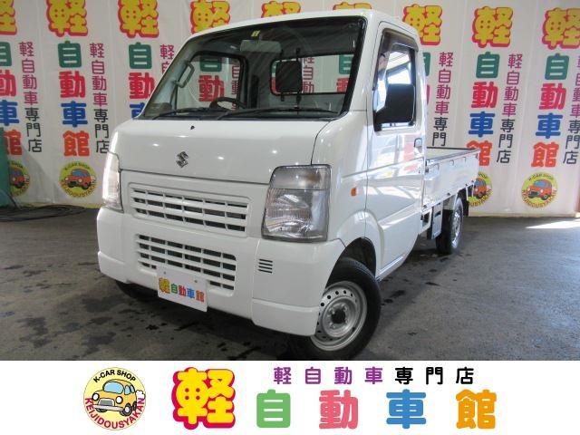 スズキ KCエアコン・パワステ マニュアル車 4WD