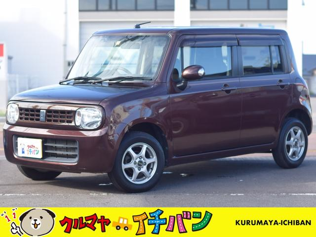 スズキ アルトラパン 4WD T 夏冬タイヤ付 サビ無 禁煙車 ナビTV